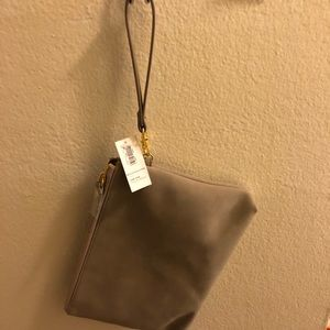 Old Navy Clutch tan